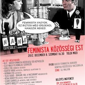 RQAC presenting at Feminista Közösségi Est thisSaturday