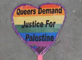 No Pinkwashing! Queers for Palestine!