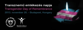 Transgender Day of Remembrance Budapest 2013